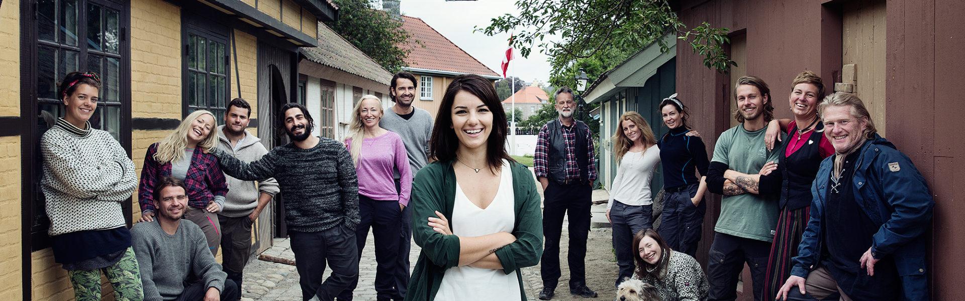 Mesterfagene er aktuelle i TV-serien Anno.