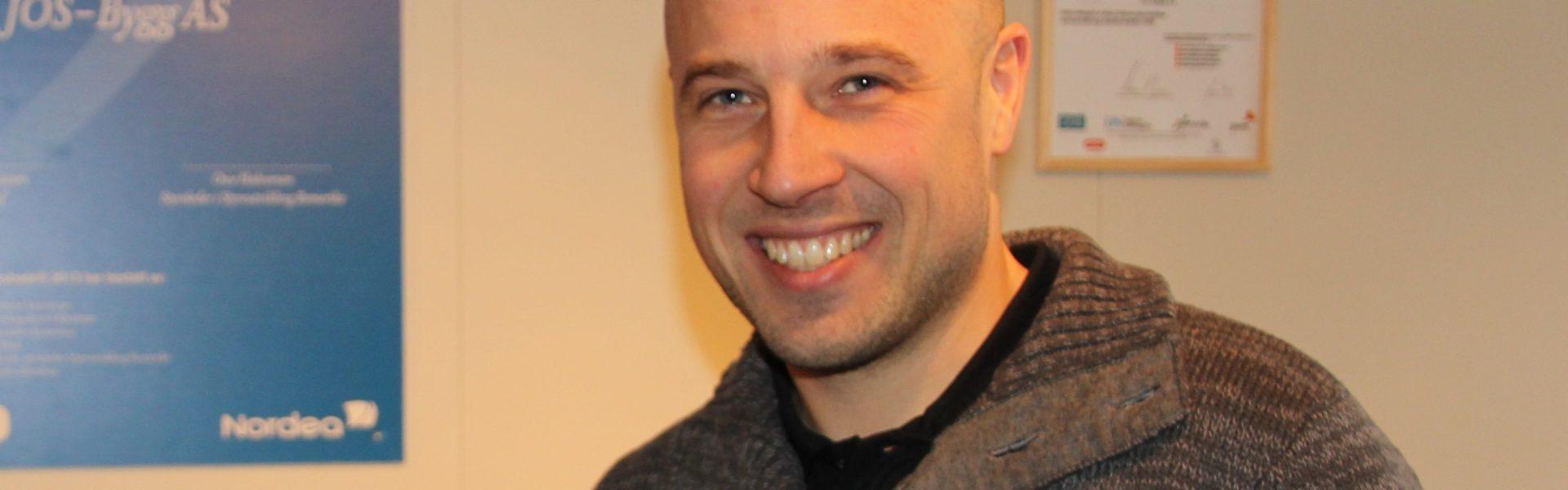 Tømrermester Steffen Dahlen