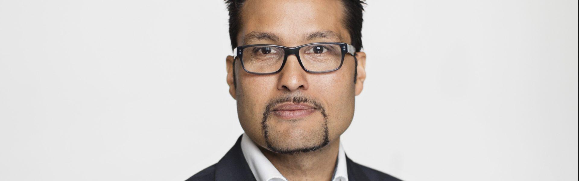 OBOS-sjef Daniel Kjørberg Siraj.