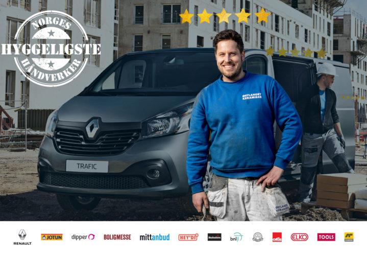 Norges Hyggeligste Håndverker – 2019