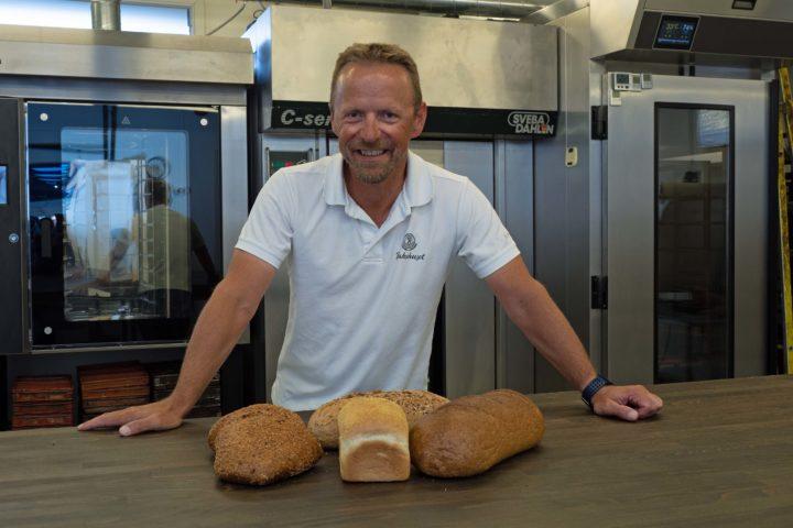 Sjef for nye brødoppskrifter