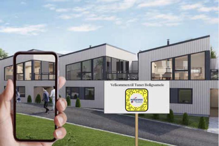 Bruker Snapchat til boligvisningen